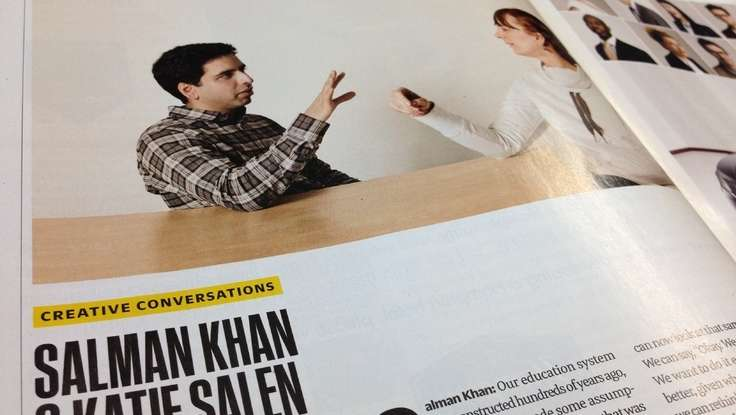 Beyond The Classroom: Education Speaker Salman Khan In <em>Fast Company</em>